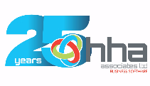 HHA 25 Year Anniversary Logo - LIGHT BLUE-163